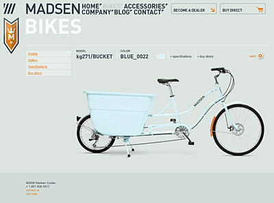 Madsen Cycles Website